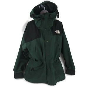 The North Face Ski Jacket Hooded Goretex Green Med